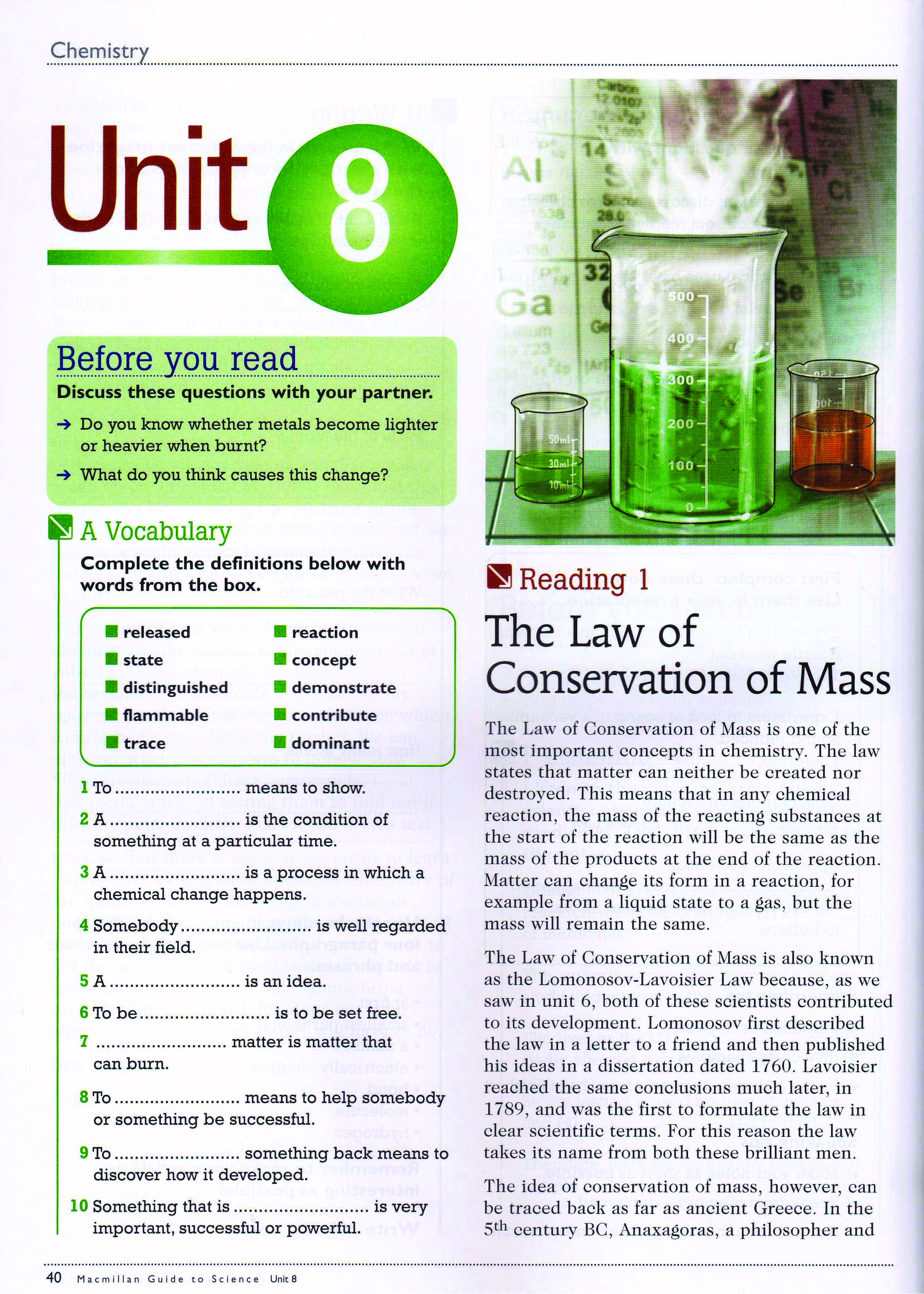 To решебник macmillan guide unit science 11
